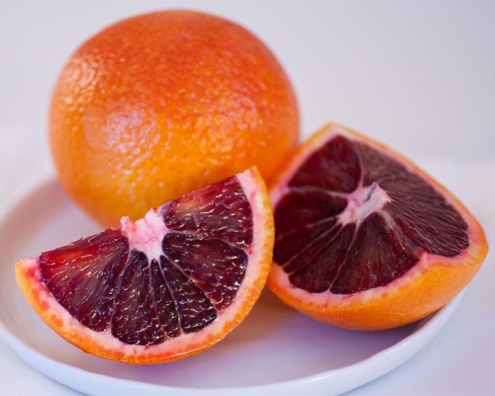 Buah drakula (Blood Orange) dari Spanyol