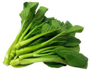 menanam sayuran organik caisim