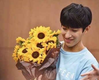 buket bunga matahari
